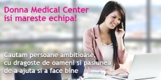 Donna Medical Center angajează Asistent Medical Generalist
